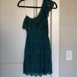 Chelsea & Violet teal lace dress size S